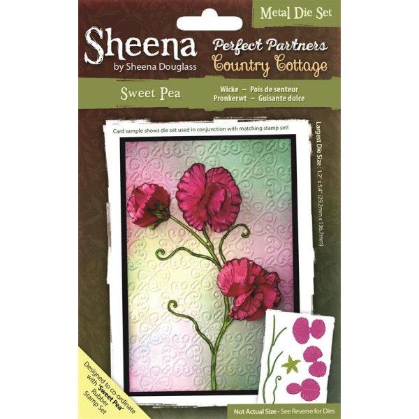 sweet pea die sheena douglass perfect partners country